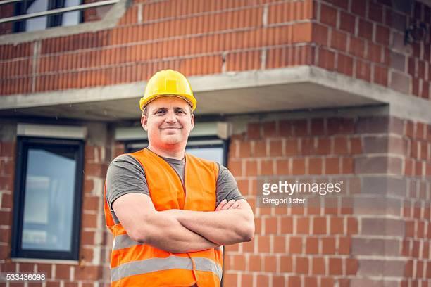 Portrait of an Construction Worker