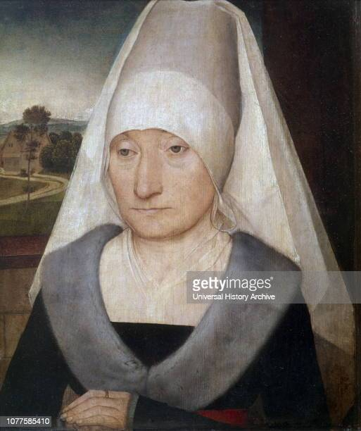 Portrait of an Elderly Lady 1470 by Hans Memling was a German painter who moved to Flanders and worked in the tradition of Early Netherlandish...