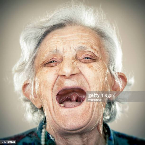 toothless old lady pictures