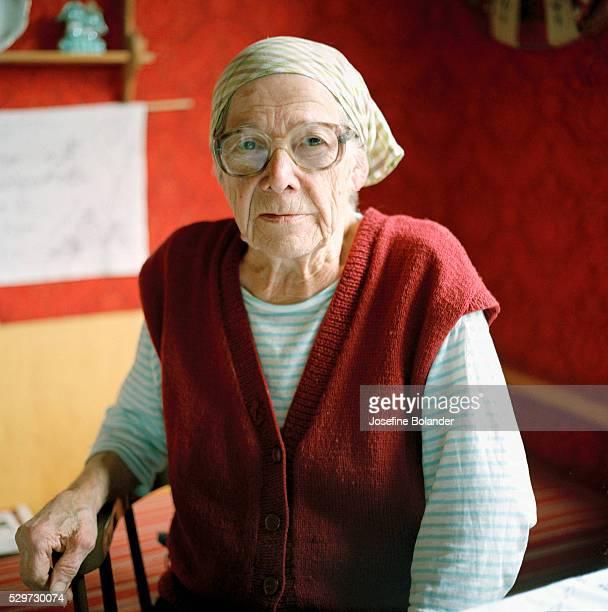 Portrait of an elderly woman Sweden