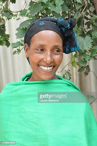 Portrait of an Ethiopian woman