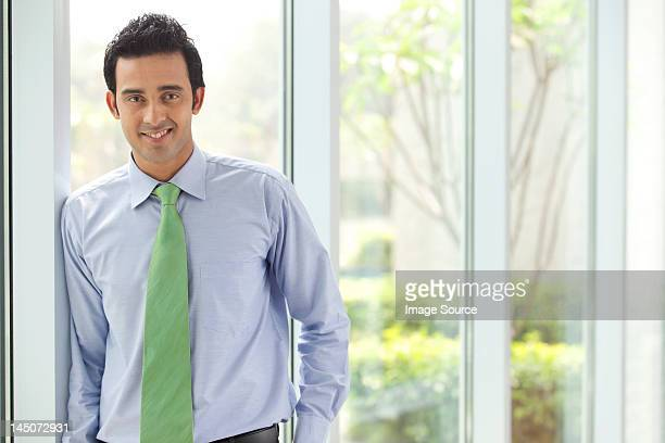 Portrait of an executive smiling