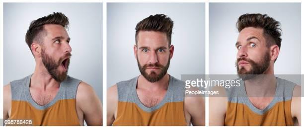 外向性の人の肖像画