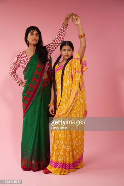 portrait of an indian women and a girl - social justice concept stock pictures, royalty-free photos & images