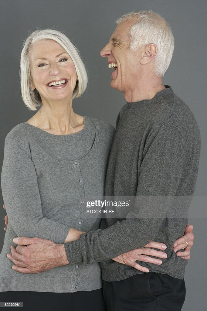 Portrait of an old couple : Stock Photo