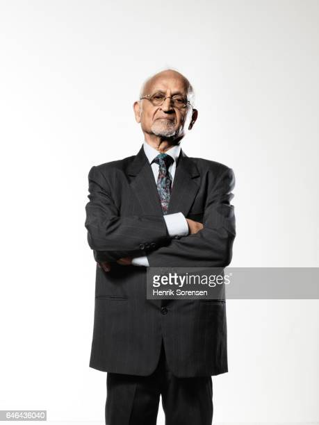 Portrait of an old indian man