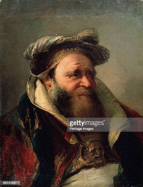 'Portrait of an Old Man' 17501770 Tiepolo Giambattista Found in the collection of the State Openair Museum Peterhof St Petersburg