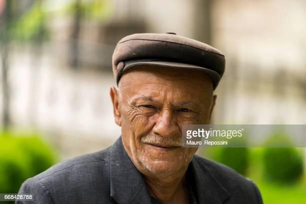 Portrait of an old man at Amasya, Turkey.