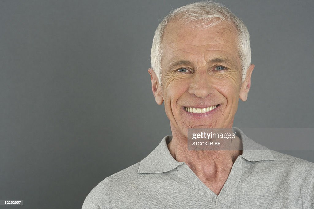 Portrait of an old man : Stock Photo