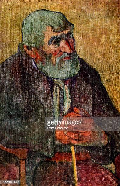 'Portrait of an Old Man with a Stick' 18891890 Found in the collection of the Musee de la Ville de Paris Plate taken from Gauguin by John Rewald...