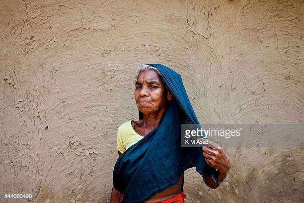 SRIMONGOL SYLHET DHAKA BANGLADESH Portrait of an old tea plucker Tea Plucking is a specialized skill Two leaves and a bud need to be plucked in order...