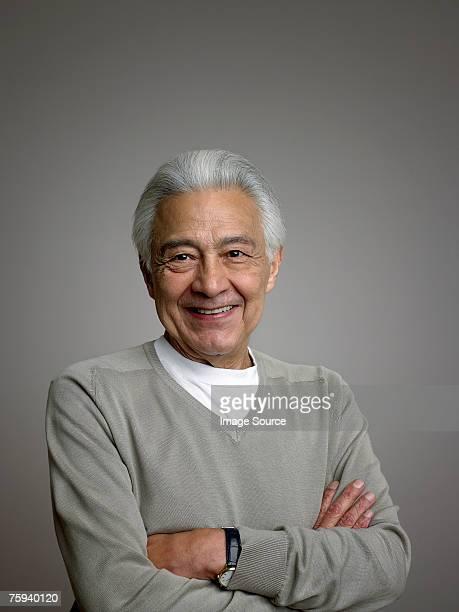 Porträt eines älteren Mannes.