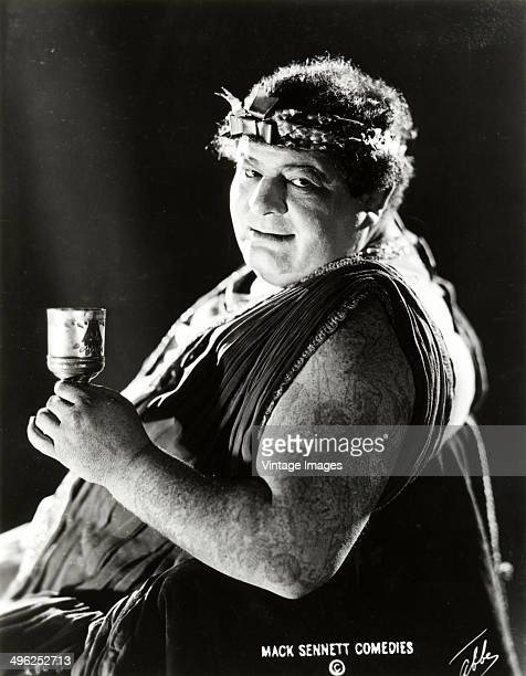Portrait of an unidentified actor in Roman costume for the film 'Home Talent' 1920