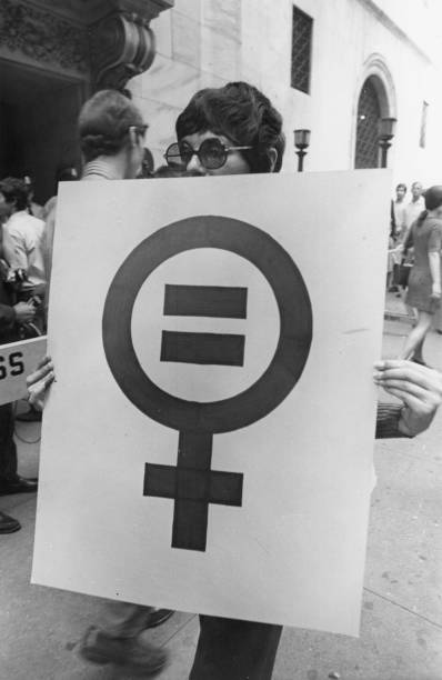 NY: 26th August 1970 - Women's Strike For Equality In New York