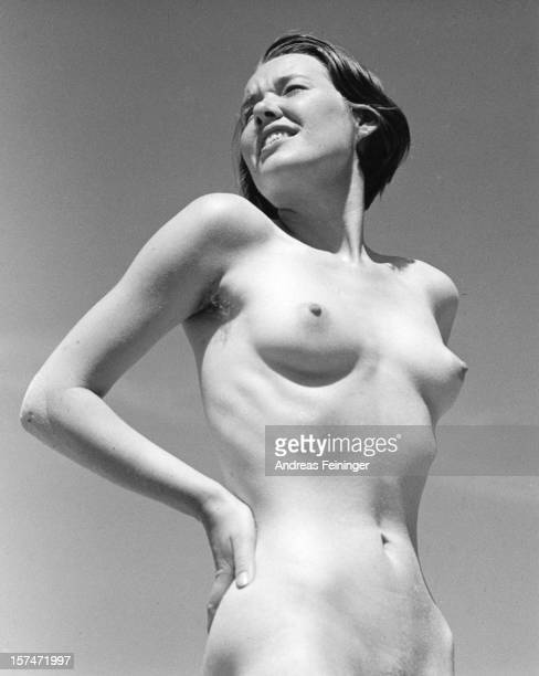 Portrait of an unidentified female nude looking left and with herr hand on her hips 1932