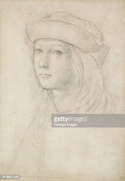 Portrait of an unknown Youth Dimensions height x width sheet 381 x 261 cm