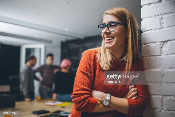 portrait of an young confidente businesswoman - young adult stock pictures, royalty-free photos & images