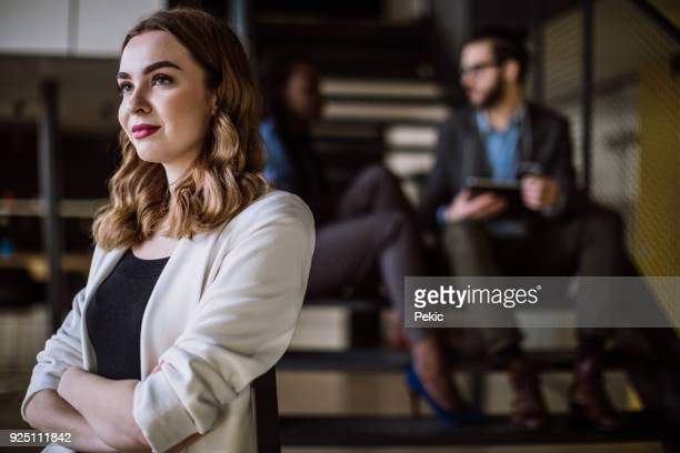 portrait of an young confidente businesswoman - creative director stock pictures, royalty-free photos & images