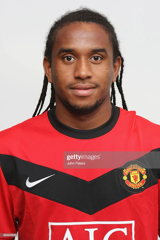 A portrait of Anderson of Manchester United taken in the team hotel on July 28, 2009 in Munich, Germany.