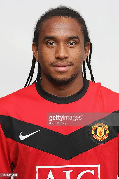 A portrait of Anderson of Manchester United taken in the team hotel on July 28 2009 in Munich Germany
