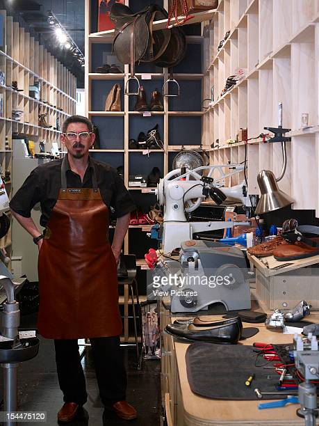 Portrait Of Andreas The Cobbler Cobbler Caballero Is A New Retail Store Bringing Quality Shoe Repairs To The Heart Of Sydney'S Kings Cross Area By...