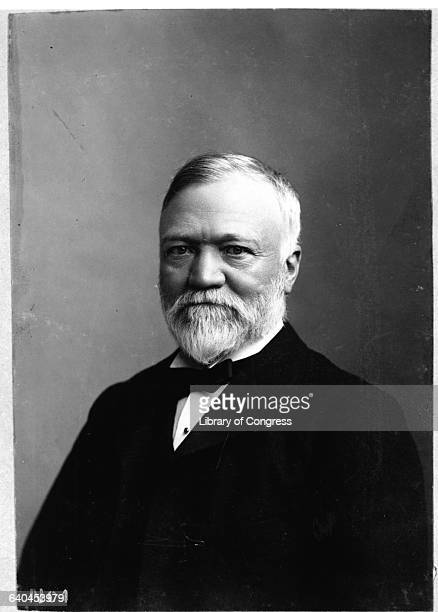 Portrait of Andrew Carnegie