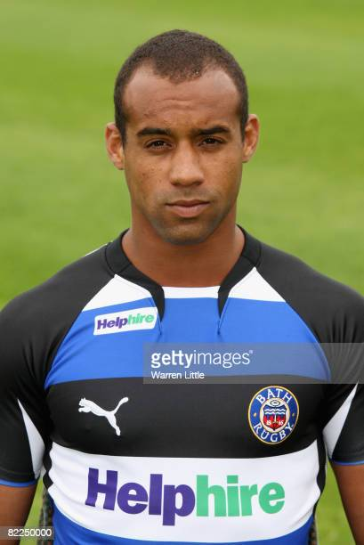 A portrait of Andrew Higgins of Bath during an open media day at The Recreation Ground on August 7 2008 in Bath England