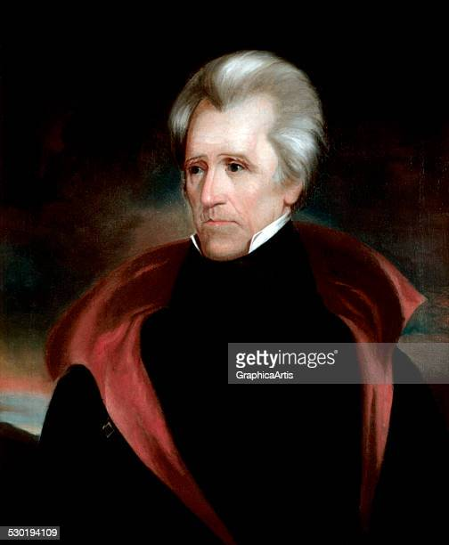 Portrait of Andrew Jackson by Ralph EW Earl c 1838
