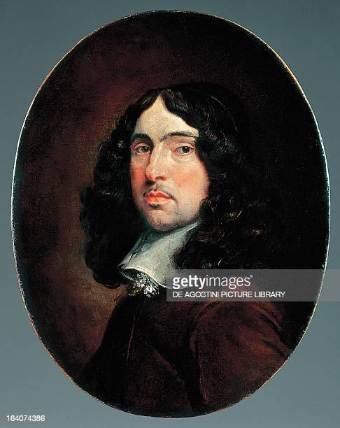 Portrait of Andrew Marvell English poet and politician London National Portrait Gallery