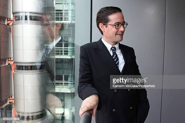 Portrait of Andrew Newman, head of entertainment and comedy at Channel 4 television, in London on 26th June 2008.