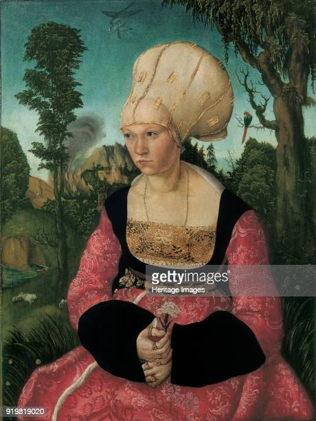 Portrait of Anna Cuspinian 1502 Found in the collection of Museum Oskar Reinhart Winterthur