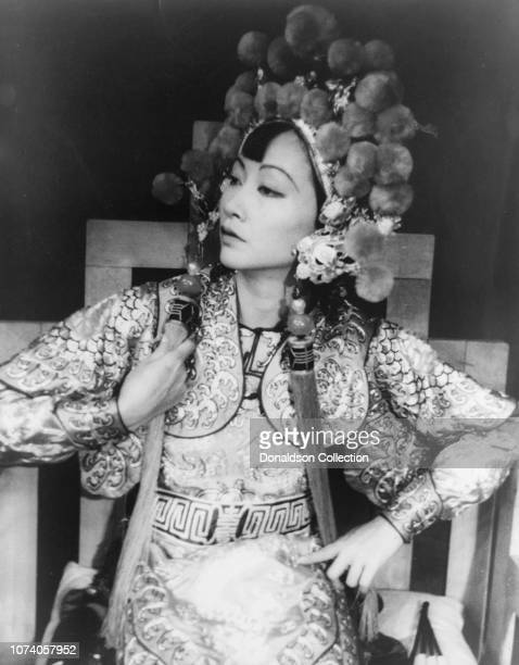 Portrait of Anna May Wong in 'Turandot'