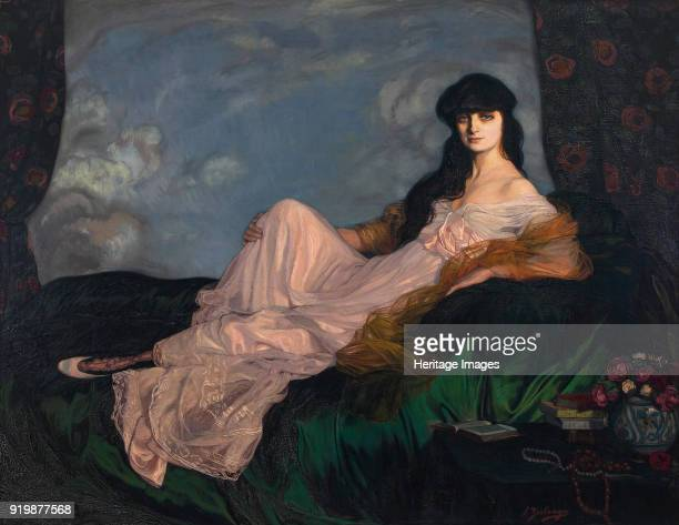 Portrait of AnnaElisabeth Comtesse Mathieu de Noailles 1913 Found in the collection of Museo de Bellas Artes de BilbaoFine Art Images/Heritage...