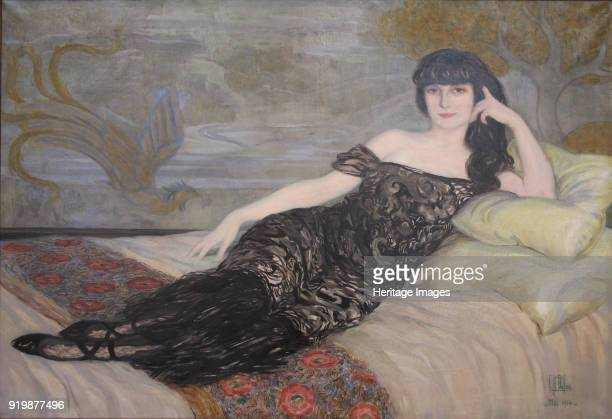 Portrait of AnnaElisabeth Comtesse Mathieu de Noailles 1914 Found in the collection of Musée des BeauxArts de CambraiFine Art Images/Heritage...