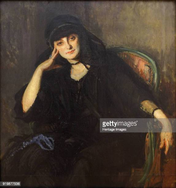Portrait of AnnaElisabeth Comtesse Mathieu de Noailles 1919 Found in the collection of Musée des BeauxArts StrasbourgFine Art Images/Heritage...