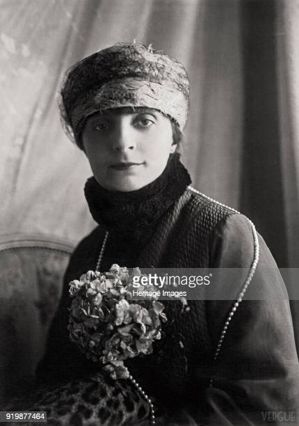 Portrait of AnnaElisabeth Comtesse Mathieu de Noailles 1922 Private CollectionFine Art Images/Heritage Images/Getty Images