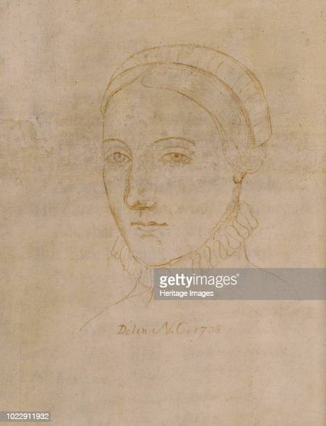 Portrait of Anne Hathaway the wife of William Shakespeare 1708 Found in the Collection of Colgate University Libraries