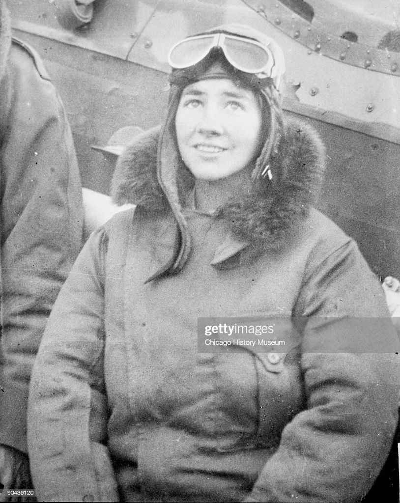 Portrait Of Anne Morrow Lindbergh : News Photo