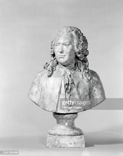 Portrait of Anne Robert Turgot, Baron of Laulne, 1778. Artist Jean-Antoine Houdon.