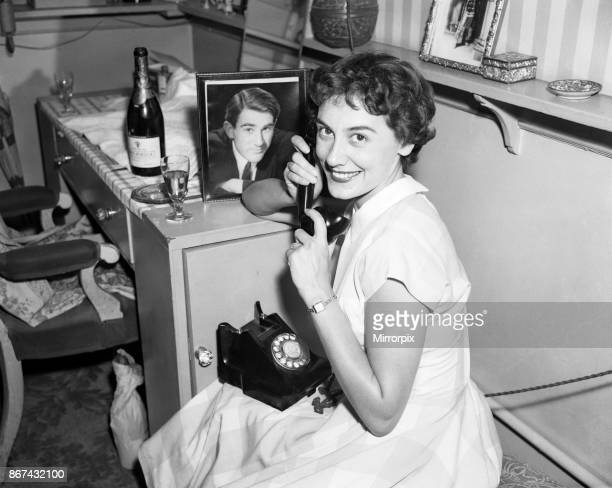 A portrait of Anne Rogers in her dressing room on the day of her engagement Anne Rogers was born in Liverpool and is an English actress dancer and...