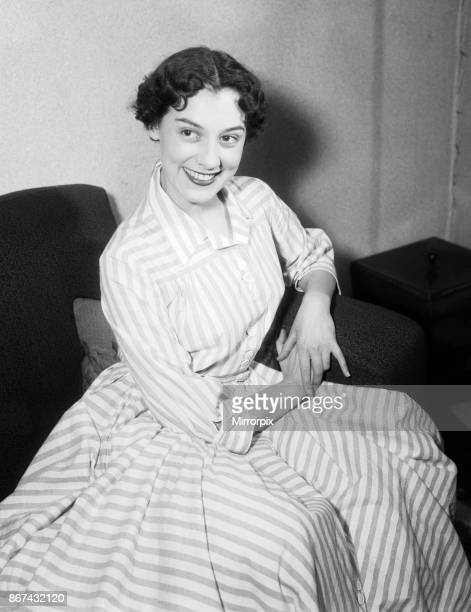 A portrait of Anne Rogers who was born in Liverpool and is an English actress dancer and singer 15th January 1954