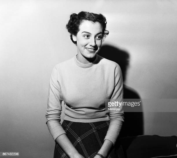 A portrait of Anne Rogers who was born in Liverpool and is an English actress dancer and singer 27th December 1953
