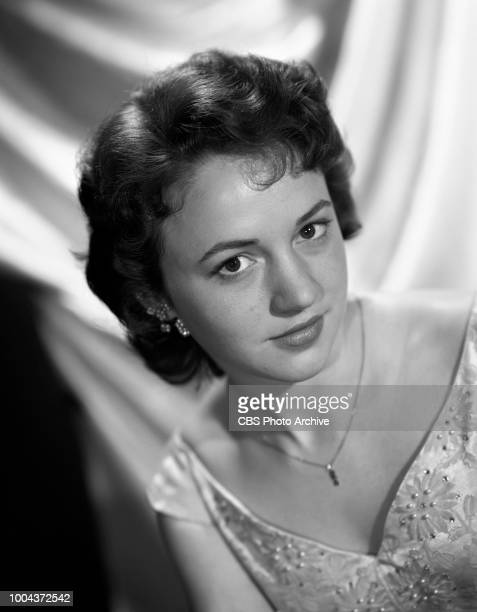Portrait of Anne Whitfield She portrays Harriet Conklin on the CBS Radio program Our Miss Brooks January 25 1956 Hollywood CA
