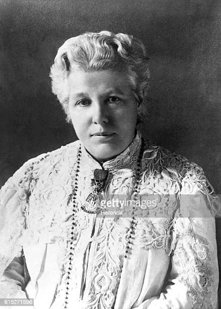 Portrait of Annie Besant English Theosophist and political leader in India