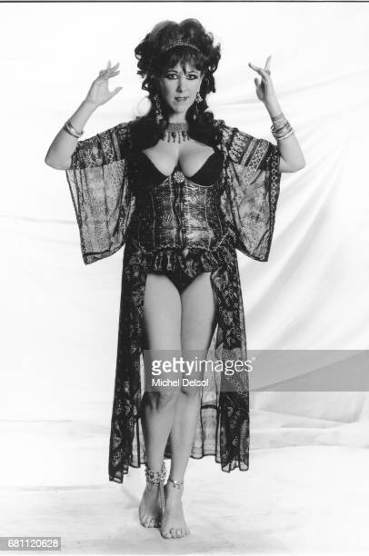 Portrait of Annie Sprinkle actress artist writer and photographer New York City New York January 291990