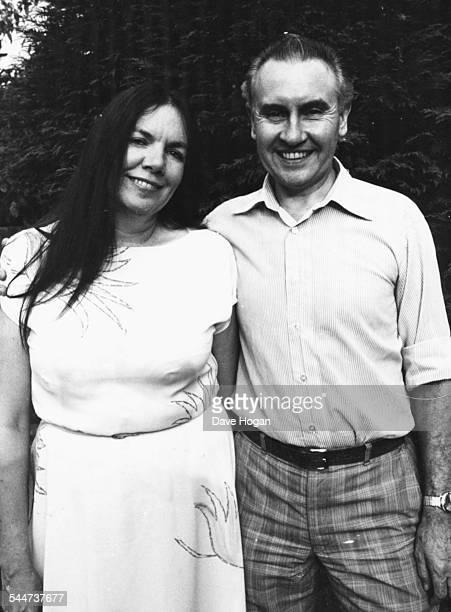 Portrait of AnnMarie and John Le Bon the parents of pop star and singer with 'Duran Duran' Simon Le Bon 1982
