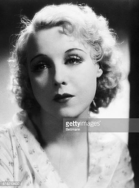 Portrait of Anny Ondra wife of Max Schmeling former World Weavyweight Champion from Germany Undated photograph circa 1941