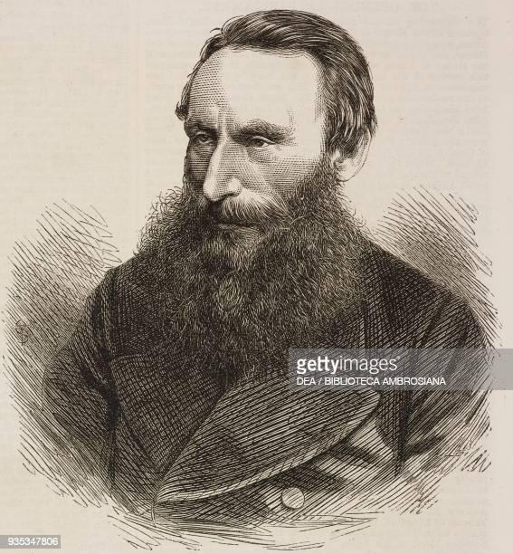 Portrait of Anthony John Mundella , English manufacturer and politician, United Kingdom, illustration from the magazine The Illustrated London News,...