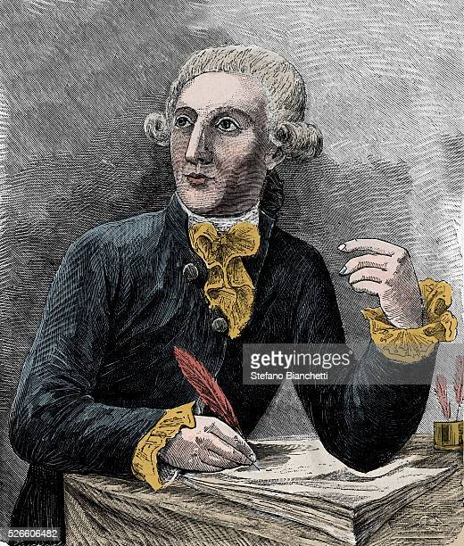 Portrait of Antoine Laurent de Lavoisier French chemist illustration from 'Sciences mises a la portee de tous physique et chimie populaires' by...