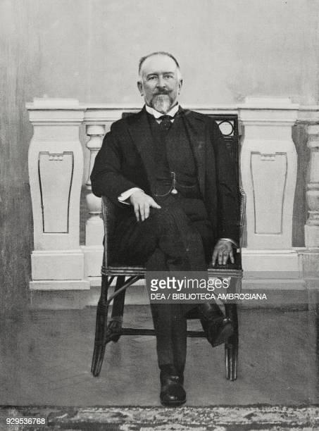 Portrait of Antonino di San Giuliano Italian politician and diplomat from L'Illustrazione Italiana Year XLI No 43 October 25 1914